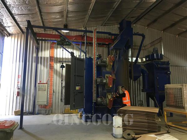 hanger type shot blasting machine 2