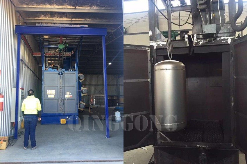 cylinder shot blasting machine 2