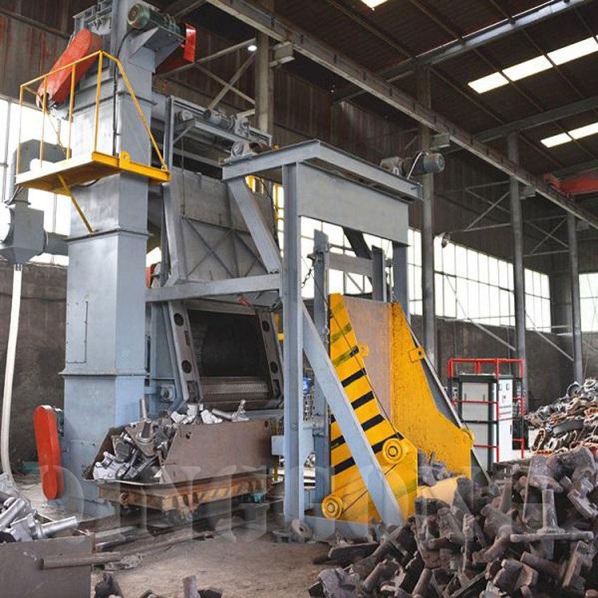 tumble belt shot blasting machine 4