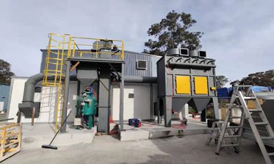Sandblasting Room Dostawa do Australii